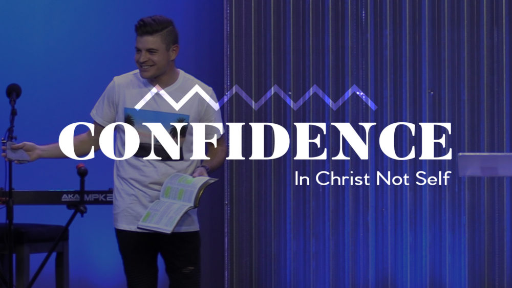 Confidence In Christ Not Self Image