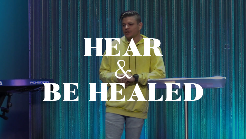 Hear and Be Healed Image