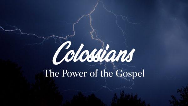 Colossians - 12noon