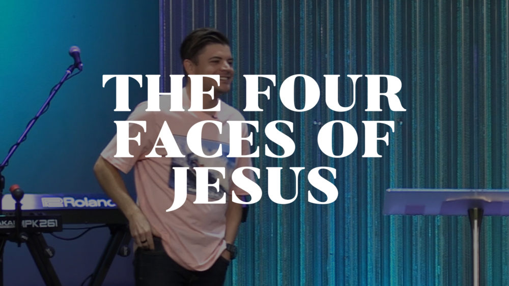 The Four Faces of Jesus Image