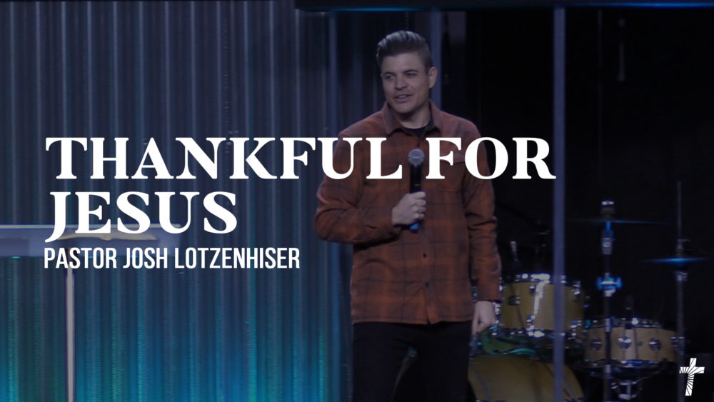 Thankful for Jesus Image